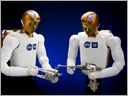 Two Robonaut 2
